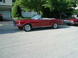 Dave's '67 Mustang convertible