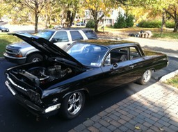 Lenny's 62 chevy 409